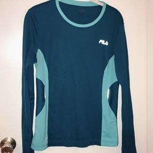 Fila Long Sleeve Active Wear!